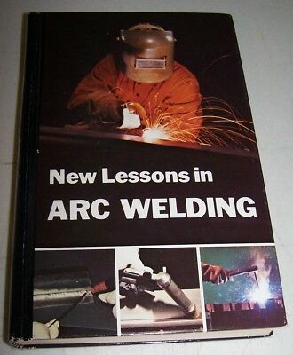 ARC WELDING BOOK 1981 by Lincoln Electric Co. Hardbound Rarely-Used Edition