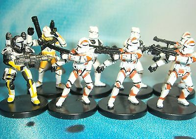 Star Wars Miniatures Lot  Republic Commando Scorch Clone Trooper !!  s97