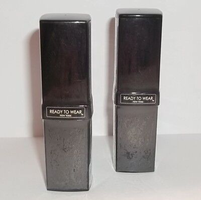 LOT OF 2 Factory-Sealed Ready to Wear Lipsticks ~ YOU PICK SHADE ~ 0.12 fl. oz.