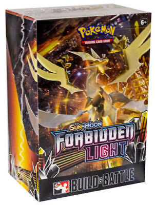 Pokemon Forbidden Light Prerelease Kit Build and Battle Box Sun & Moon TCG Cards