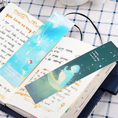 30/pack Paper Bookmark Chinese Book Marks For Kids Supplies Book Labels Postcard