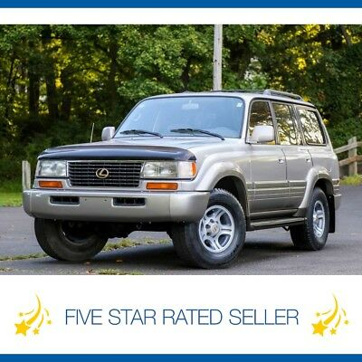 Lexus LX LX450 3rd ROW Tow Package CARFAX Land Cruiser FJ80 1996 Lexus LX 450  LX450 3rd ROW Tow Package CARFAX Land Cruiser FJ80