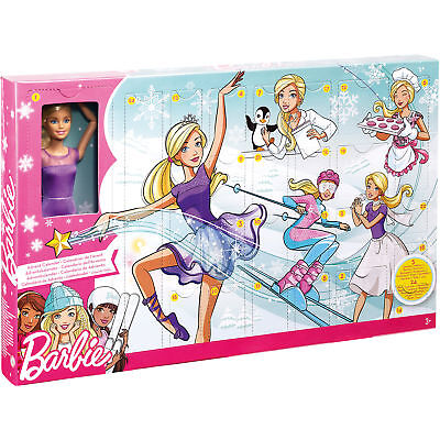 Neu Mattel Barbie Adventskalender 6654707