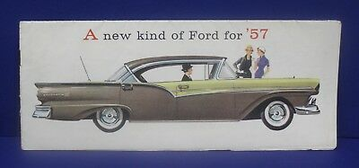 1957 Ford Brochure FD-7701 8/56