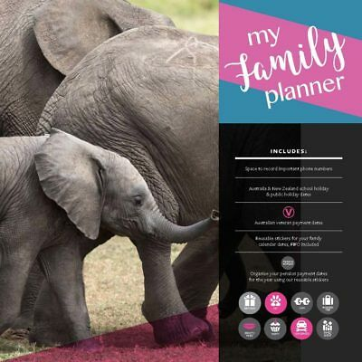My Family Planner 2019 16-Month Square Wall Calendar by Browntrout