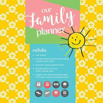 Our Family Planner 2019 12-Month Square Wall Calendar by Browntrout