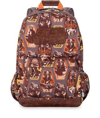 2c5b0b6727b New With Tag Disney Star Wars Solo Backpack for Adults Laptop Pocket  Brown gray