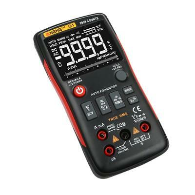 ANENG Q1 Digital Multimeter Button 9999 Counts Analog Bar Graph Voltage Ammeter