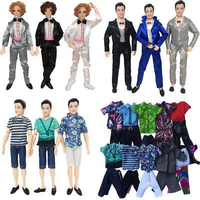 Jeans Outfit For 11 inch Dolls Doll Clothes Casual Suits Tops-Pants