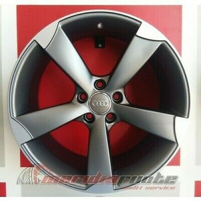 """F931P/map Kit 4 Jante En Alliage 18"""" Et45 Audi A3 S3 Rs3 Sportback Made In Italy"""