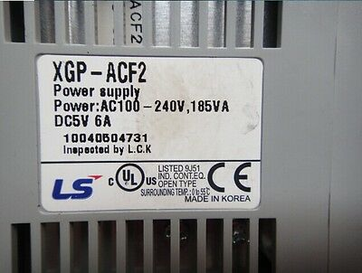 Used LS LG PLC Power Supply Module XGP-ACF2 Tested