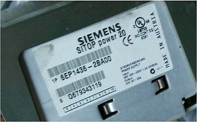 USED SIEMENS Power Supply 6EP1436-2BA00 tested