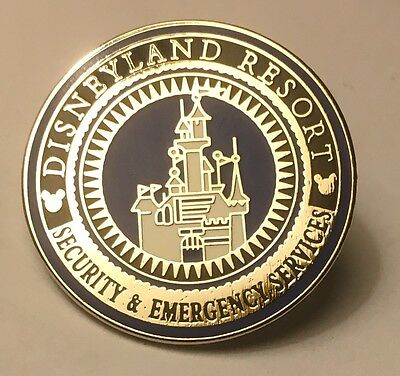Disneyland Disney DLR Cast Security Emergency Services Pin