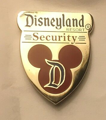 Disneyland Disney DLR Cast Security Emergency Services Badge Pin
