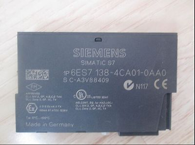 Used SIEMENS Power Module 6ES7 138-4CA01-0AA0 Tested