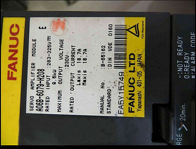 Used FANUC A06B-6079-H208 Servo Amplifier Module Tested