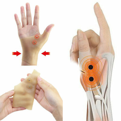 Effective Magnetic Arthritis Pain Relief Wrist Hand Thumb Support Glove Sleeve