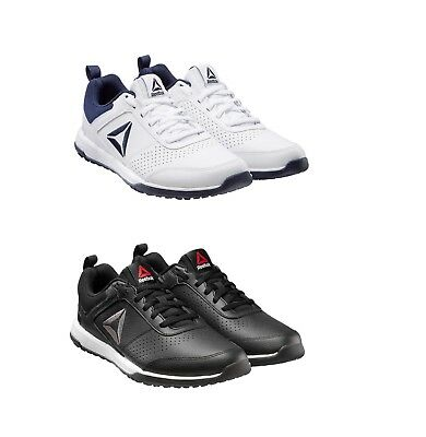 hot sale online e9018 43918 SALE, Reebok Men s CXT Athletic Shoes, Leather Sneaker, Black   White