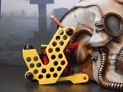 Bogeyman Irons Custom Tattoo Machine Shader -No11 -Spare Parts-Frame-Coils-Ink