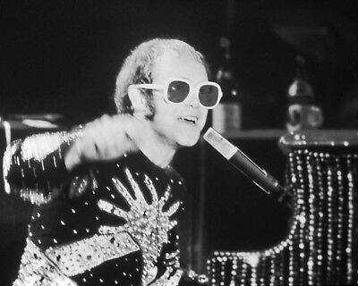 English Rock Singer ELTON JOHN Glossy 8x10 Photo Music Artist Print Poster