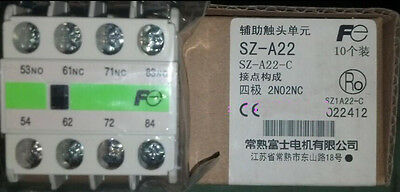 1PC New Fuji Electric SZ-A22 Auxilliary Contact Block