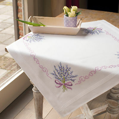 1x Embroidery Kit Thread Tablecloth Lavender Sewing Craft Tool Hobby Art UK