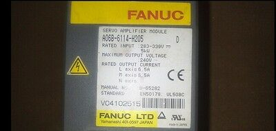 Used FANUC Servo Amplifier Module A06B-6114-H205 Tested