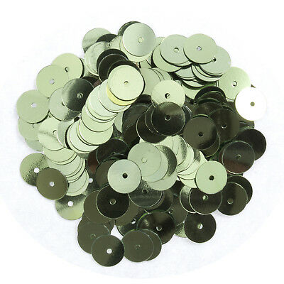 5x Sequins Flat 8mm Light Green 10.5g Sewing Craft Tool Hobby Art UK
