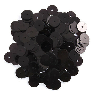 5x Sequins Flat 8mm Black 10.5g Sewing Craft Tool Hobby Art UK Bulk Filoro