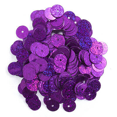 5x Sequins Flat 8mm Cerise 10.5g Sewing Craft Tool Hobby Art UK Bulk Filoro