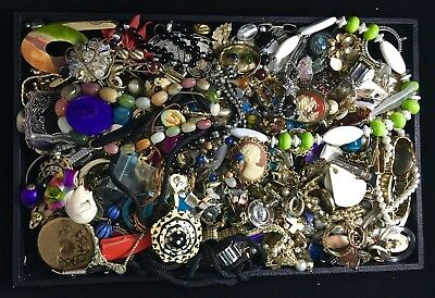 Vintage Lot of Mixed Costume Jewelry – More than Six Pounds –Unsearched