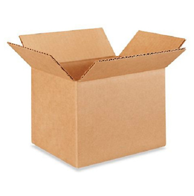 50 8x6x6 Cardboard Paper Boxes Mailing Packing Shipping Box Corrugated Carton