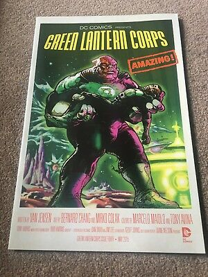 Dc Comics Green Lantern Corps Movie Poster Variant Cover #40 (2015)