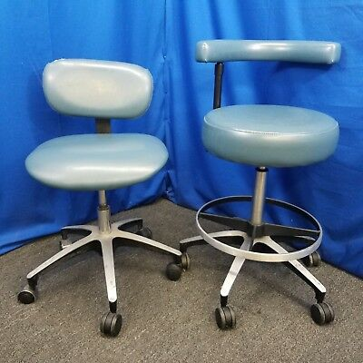 Dental-Ez Doctor and Assistant's Stool