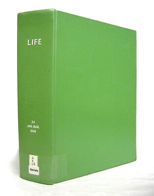 LIFE Magazine 1947 & 1948 Bound Volumes Vintage Back Issues - Sold Individually