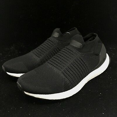 82ff7a8a4c3 ADIDAS MEN S ULTRABOOST LACELESS CORE BLACK Shoes S80770 Size 8.5-11 ...