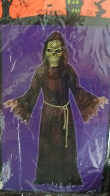 TOTALLY GHOUL Boys Scary Ancient Reaper Halloween Costume XL NWT