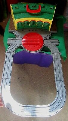 Thomas The Tank Roundhouse Fold Out Carry Case - Good Condition