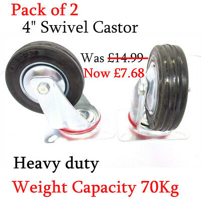 "4"" swivel castor wheels ,furniture /High quality swivel double bearing castors"