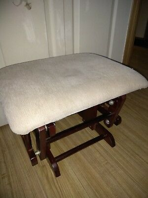 Rocker Chair Ottoman  only  Nursery Furniture Rocking Wood Glider REPLACEMENT