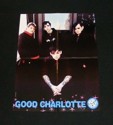 GOOD CHARLOTTE magazine clippings lot with POSTER No3