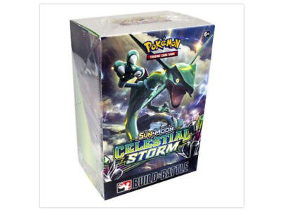 Pokemon Celestial Storm Prerelease Kit Build and Battle Box Sun & Moon TCG Cards