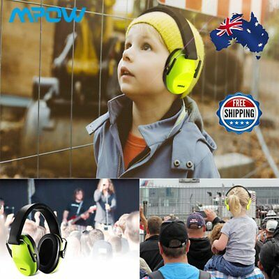Adjustable Foldable Shooting Hunting Electronic Earmuffs Kids Ear Muffs Defender