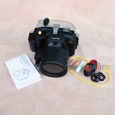Meikon 50m 160ft Waterproof Diving Camera Case Cover For Canon EOS 550D Camera