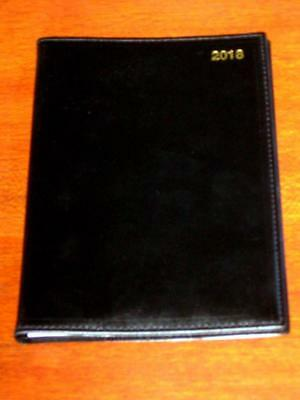 Staples A5 2018 Diary Clearance Week To View Pvc Cover Wiro Bound - New