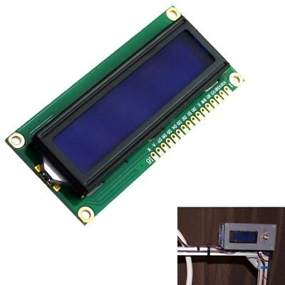 NEW DC 5V HD44780 1602 LCD Display Module 16x2 Character LCM Blue Backlight Y9V8