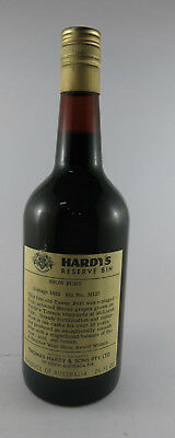 Hardys Show Port Bin 1951 Rare Port, Full sealed near mint condition