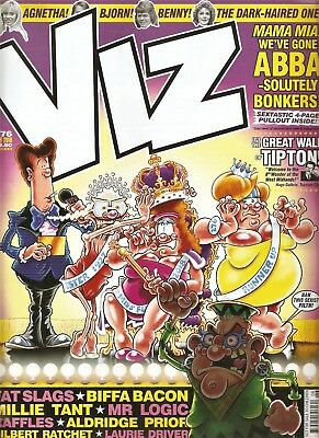 Viz Comic Issue 276 July 2018 - Fat Slags/Abba/World Cup/Biffa Bacon