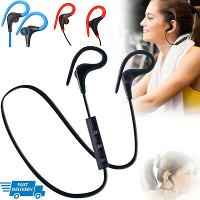 Wireless Sports Bluetooth Headphones,Stereo Earbuds Noise Cancelling Earphones