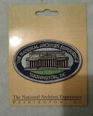 Washington DC National Archives-PATCH 3 1/2 ' -NEW & UNUSED